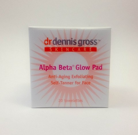 Dr. Dennis Gross Skincare Alpha Beta Glow Pads For Face 20 Towelettes
