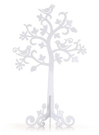Sass & Belle White Metal Jewellery Tree