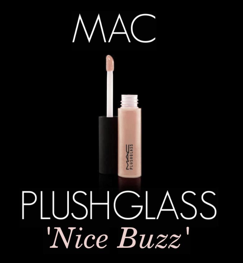 Mac Plushglass Lipgloss in 'Nice Buzz'