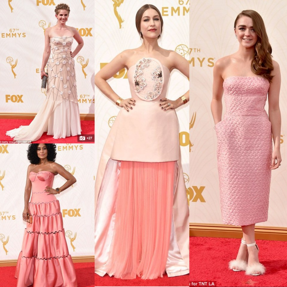 Emmys 2015 - Was the theme: 'Come as a 1950s bedroom suite' this year?