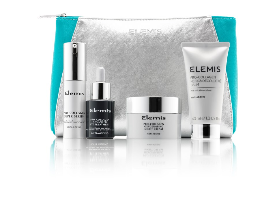 OFFER Elemis 4-Piece 'Pro-Collagen Visible Results Collection' £59 (worth £195)