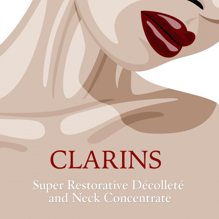 Clarins Super Restorative Décolleté & Neck Concentrate