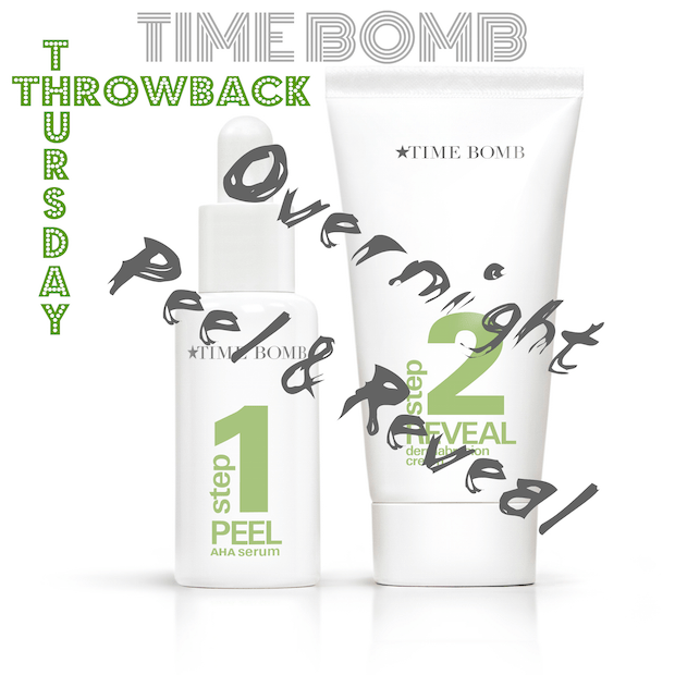 Time Bomb 'Throwback Thursday' Overnight Peel and Reveal Kit