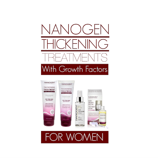 Nanogen Hair Thickening Treatments