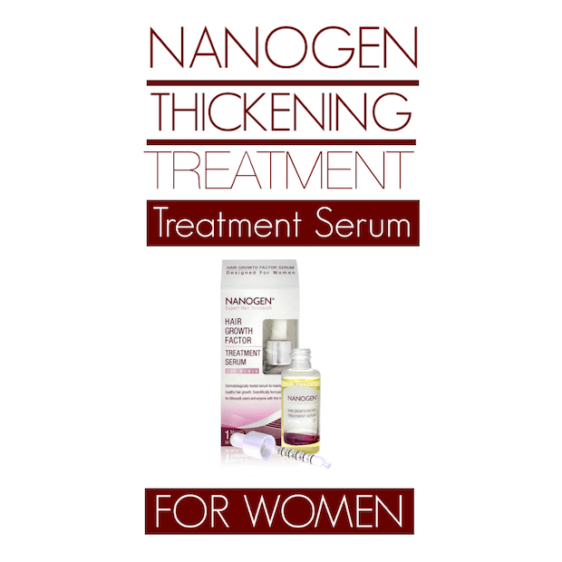 Nanogen Hair Growth Factor Serum