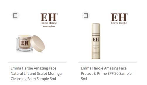 Feel Unique beauty samples