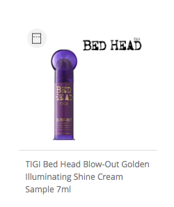 TIGI Bed Head Blow-Out Golden Illuminating Shine Cream