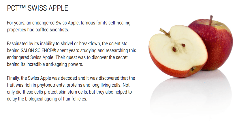 PhytoCellTec™ Swiss Apple For Anti-Ageing and Restored Volume