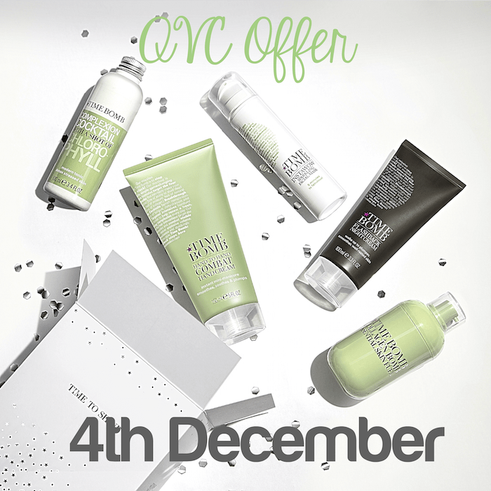 QVC Timebomb Offer 4th December