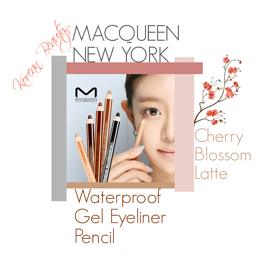 MACQUEEN NEW YORK GEL PENCIL CHERRY BLOSSOM LATTE