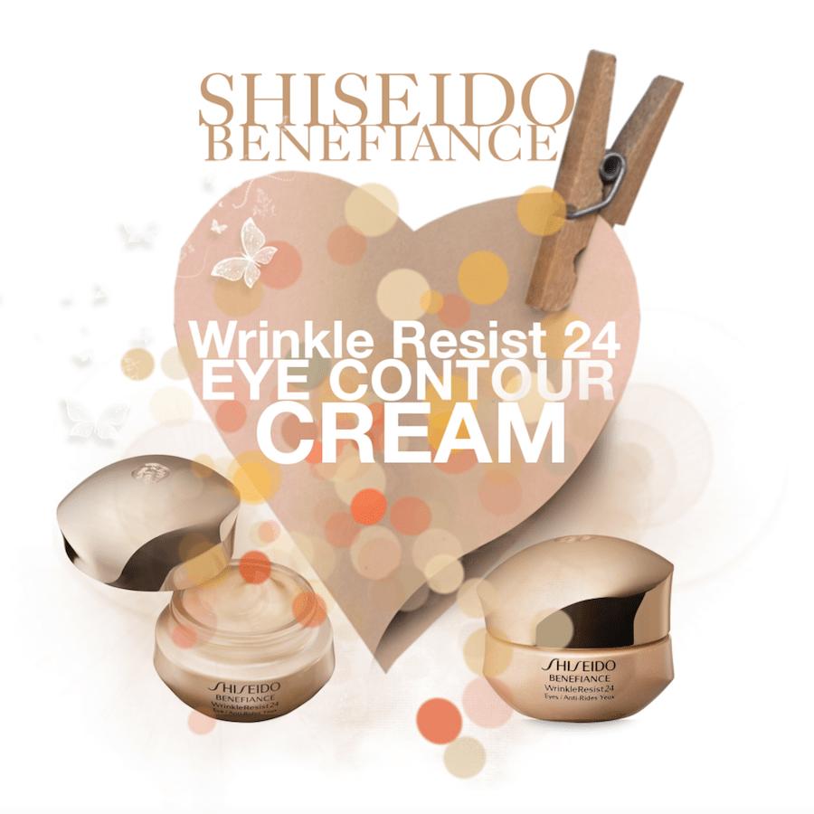 Shiseido Benefiance WrinkleResist24 Eye Contour Cream