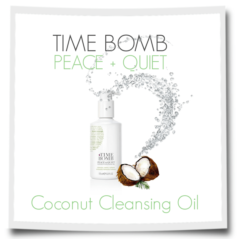 Time Bomb PEACE + QUIET Coconut Cleansing Oil