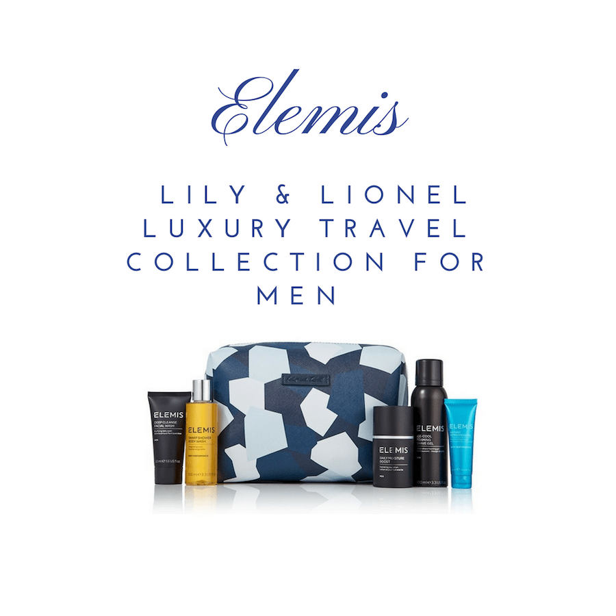 ELEMIS Lily & Lionel Luxury Travel Collection for Men