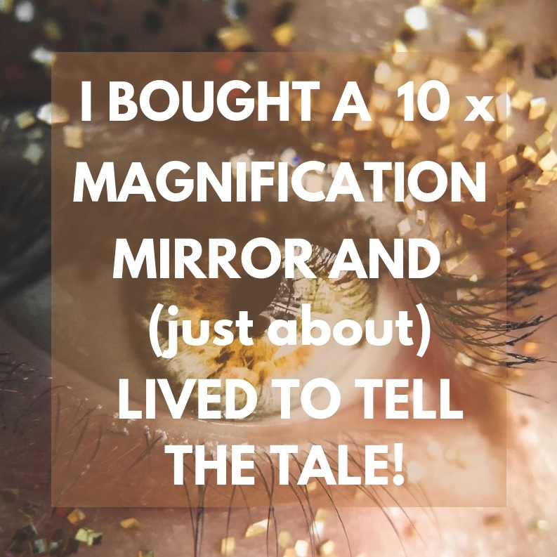 10 x Magnification Vanity Mirror