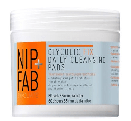REVIEW NIP+FAB GLYCOLIC FIX DAILY CLEANSING PADS