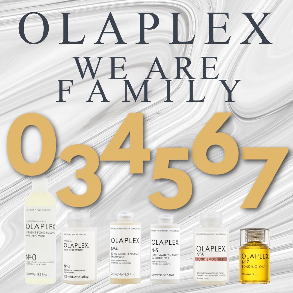 Olaplex Nº0, 3, 4, 5, 6 & 7