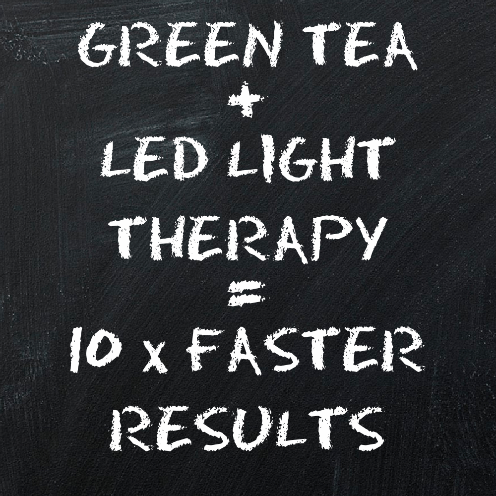 Green Tea & LED