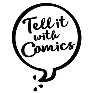 Tell it with Comics Logo
