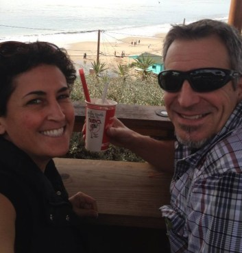 Me and my honey at Crystal Cove