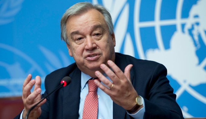 UN Secretary-General's remarks on the appointment of António ...