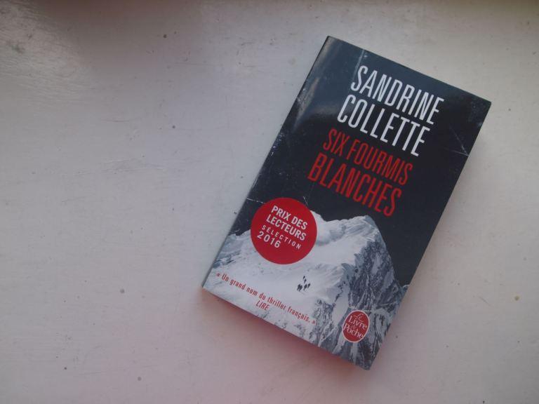 Six fourmis blanches Sandrine Collette