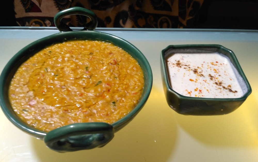 Dal Khichdi at Rooftop Lounge