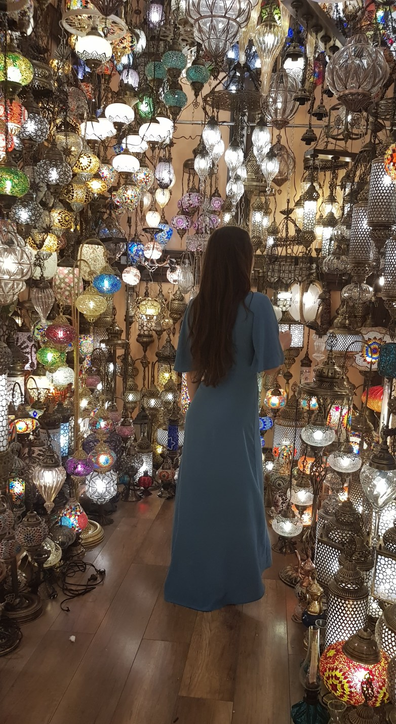 An amazing Lamp shop in the Grand Bazar, Istanbul