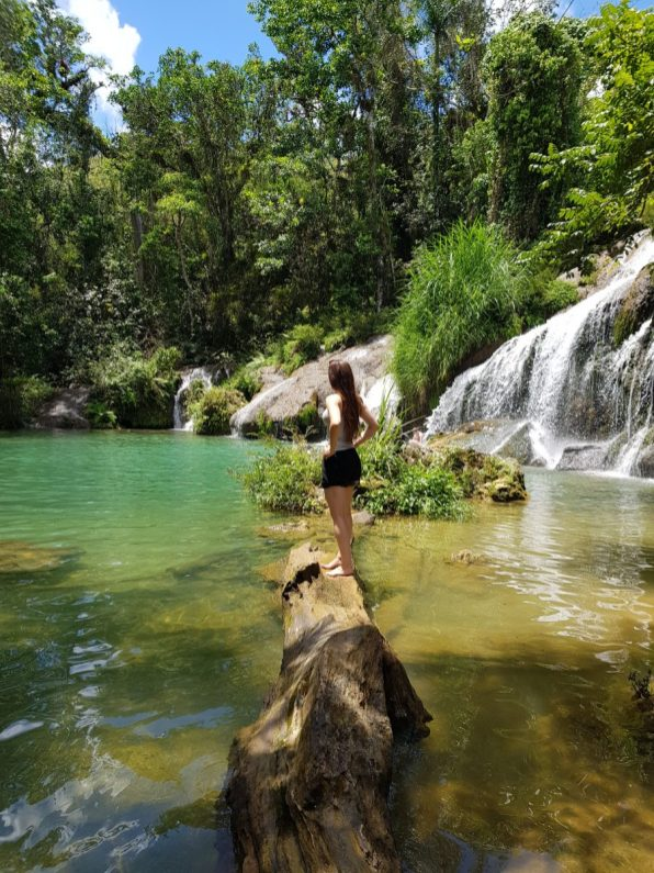 Stunning place for a swim in El Nicho