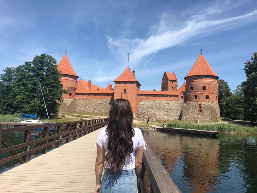 Trakai castle in Lithuania