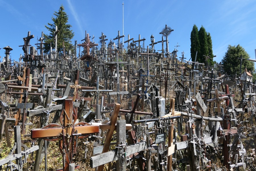 The amazing Hill of Crosses in Lithuania
