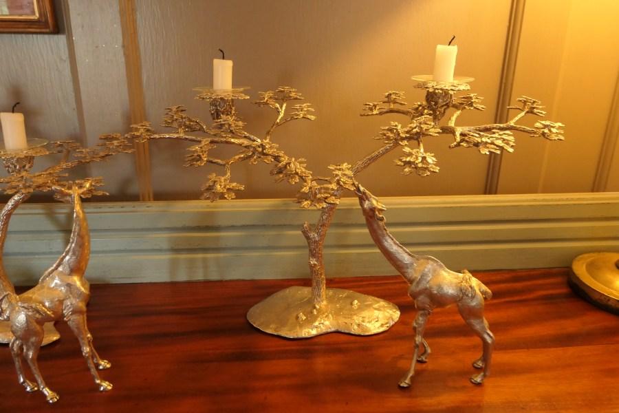 Giraffe candle