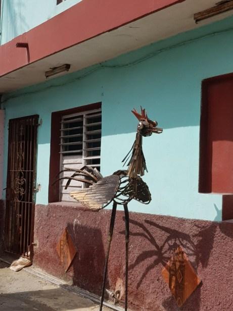 Interesting sculpture, Cuba