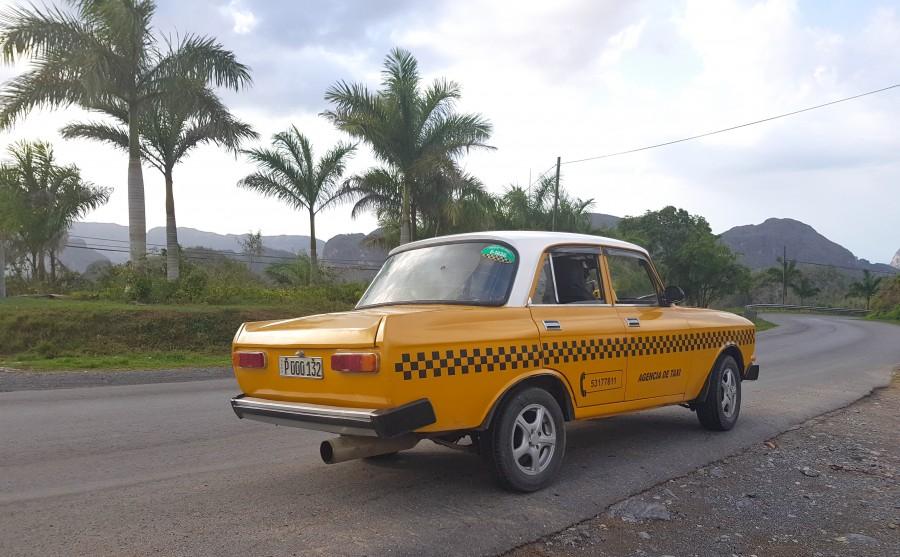 Classic car in Vinales, a staple of Cuba