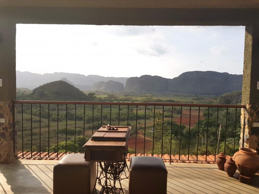 Airbnb private balcony