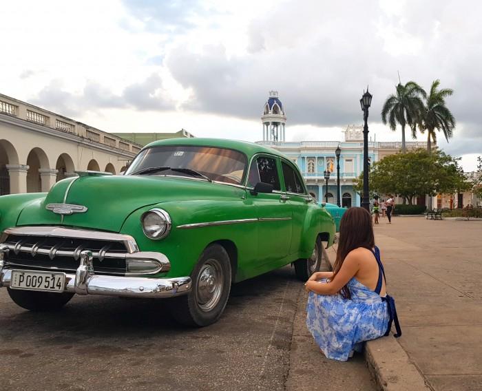 Parque Jose Marti (Central Plaza) in Cienfuegos