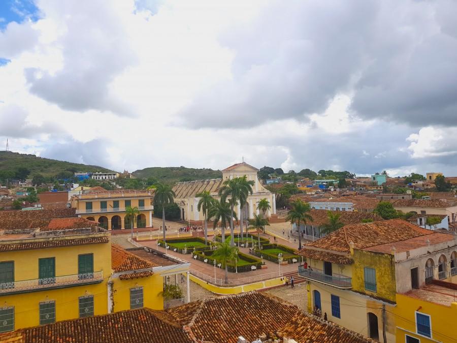 Rooftop viewpoint at Palacio Cantero