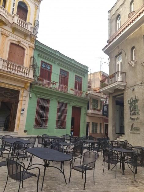Old Havana close to Iglesia del Santo Angel Custodio