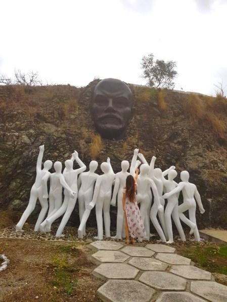 Colina Lenin statue Havana, Cuba