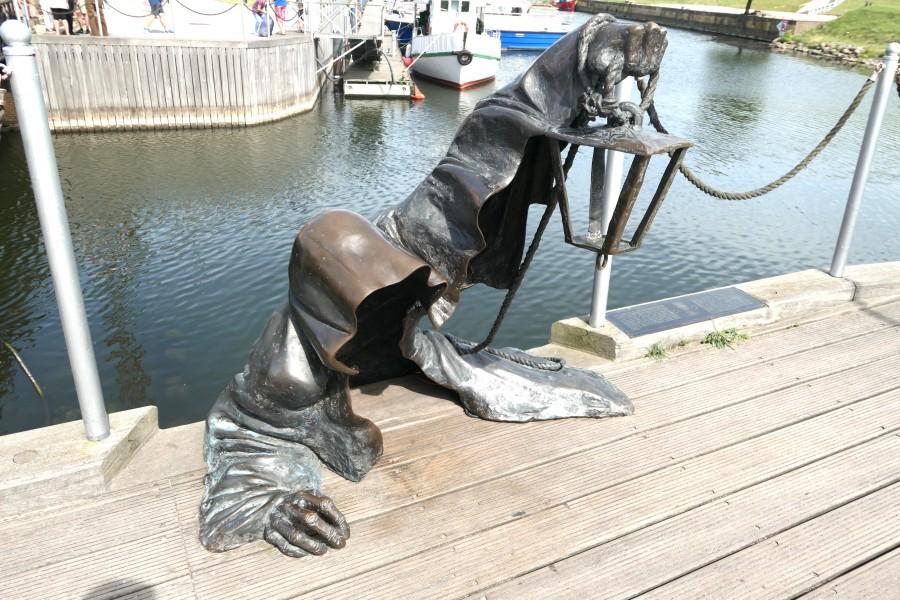 Unusual statue in Klaipeda