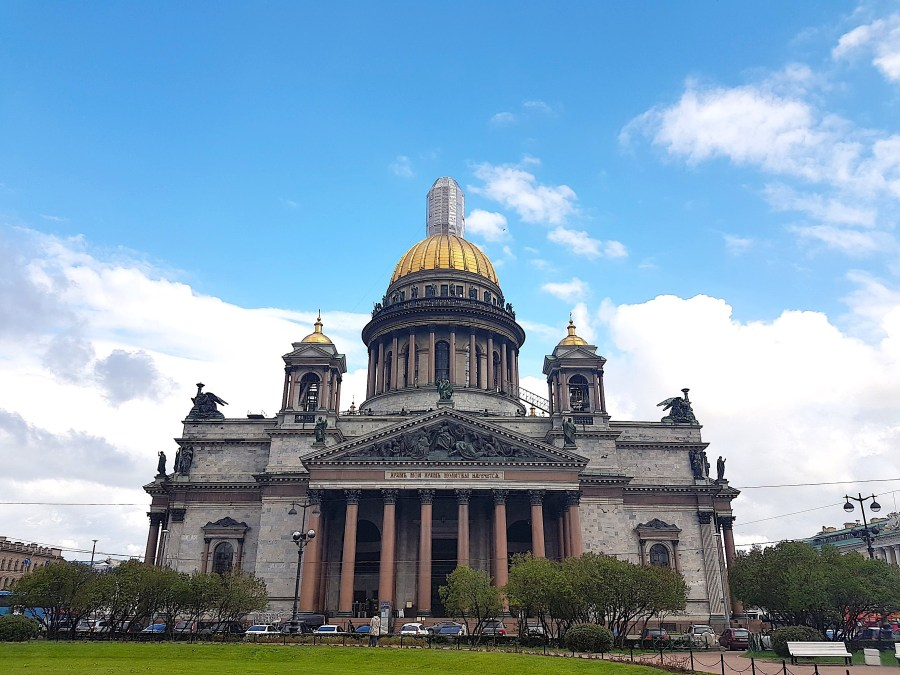 St Issac's Cathedral in St Petersburg