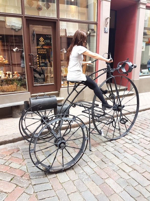 Bike outside of Ciku Caku