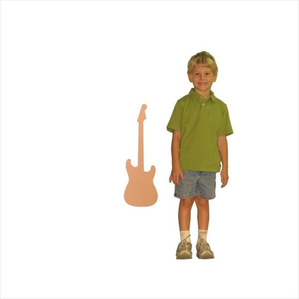 Small Fender Strat Guitar (24x10)