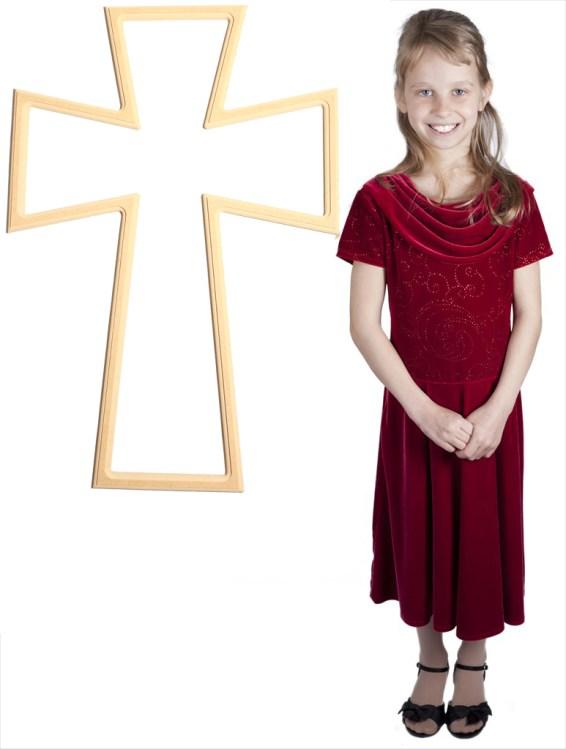 Bedazzled Germanic Cross (33x23)