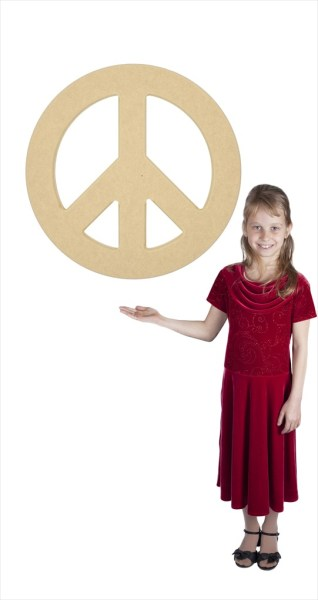"Large Peace Sign (30"" Diameter)"