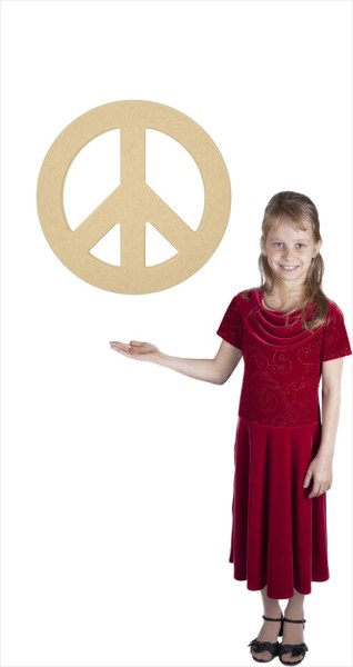 "Medium Peace Sign (18"" Diameter)"