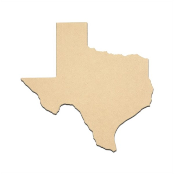 """Mini State of Texas 3"""" Package of 4"""