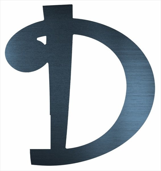 "Curly Letter D (2"")"