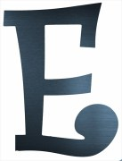 "Curly Letter E (4"")"