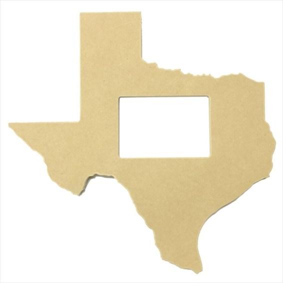 """Texas Frame 5""""x7"""""""