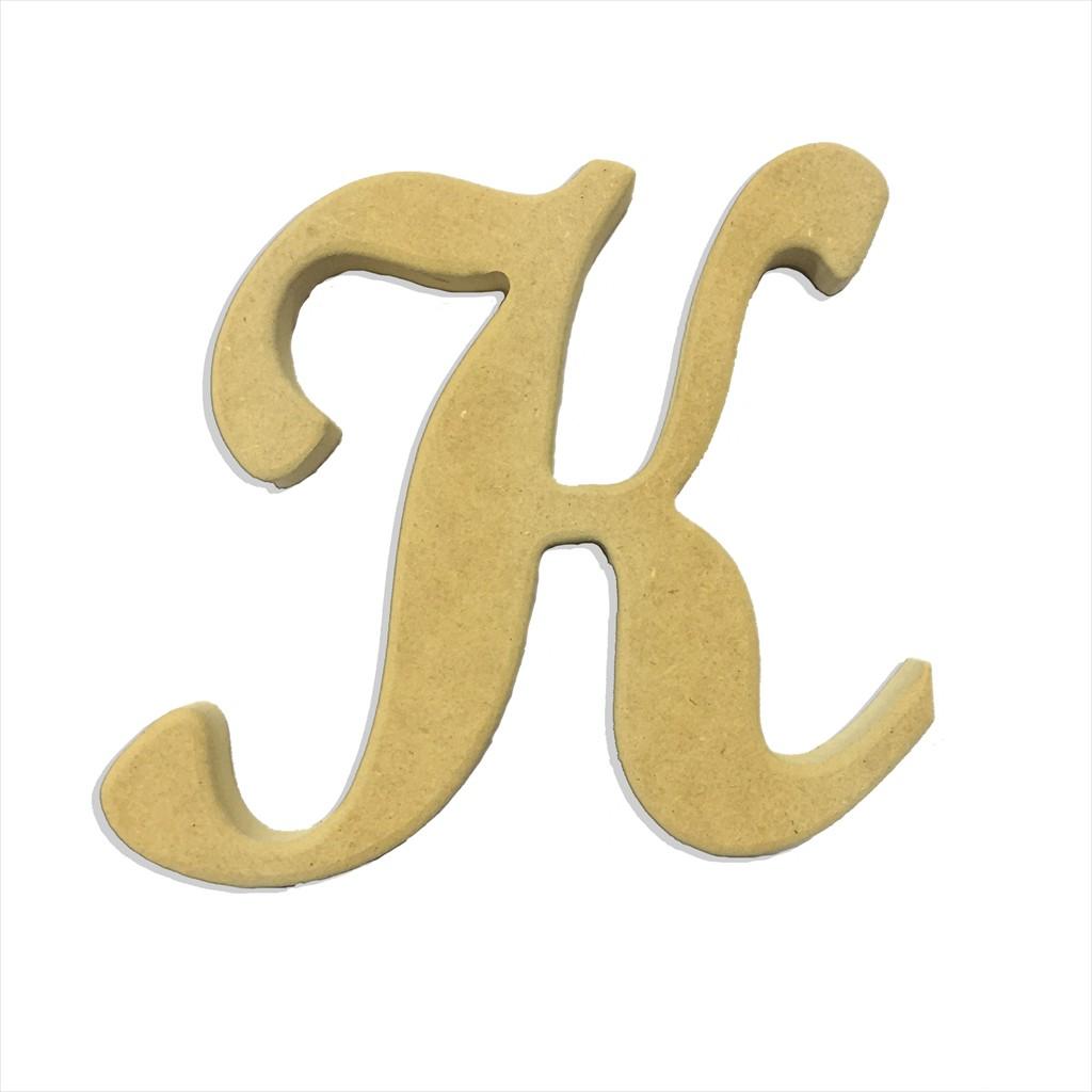 22 Script Cursive Letter K